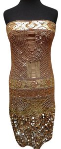 Farah Khan Glitz Glam Sequined Chic Dress