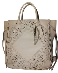 Coach Whiplash Leather Tote in Apricot