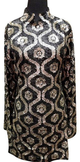 Preload https://item1.tradesy.com/images/blackgold-blackgold-sequined-or-tunic-mini-cocktail-dress-size-8-m-1272590-0-0.jpg?width=400&height=650