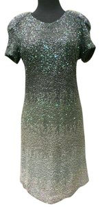 Manish Arora Glitter Glitz Glam Sequined Holiday Hollywood Red Carpet Dress