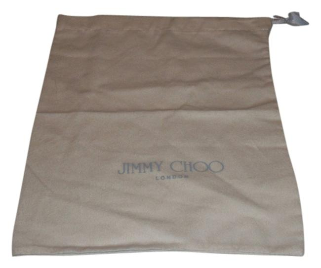 Item - Ivory with Gray Logo Drawstring Bag Sleeper/ Dust Bag Or Protective Cover Cotton Flannel. Size 11 X 14 Length. Drawstring Bag.