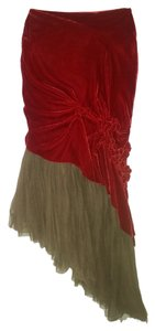 Jean-Paul Gaultier Skirt RED