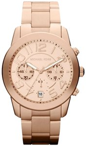 b5b0dc789468 Michael Kors Michael Kors Mercer MK5727 Rose Gold Women s Chronograph Watch