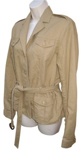 Banana Republic #safari #linen #cotton Dark Khaki Jacket