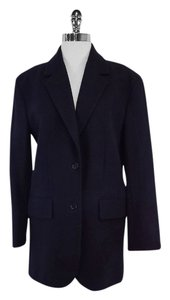 Céline Navy Wool Cashmere Jacket