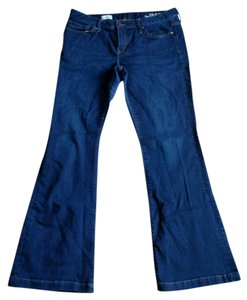 Gap Long And Lean Tall Boot Cut Jeans-Dark Rinse