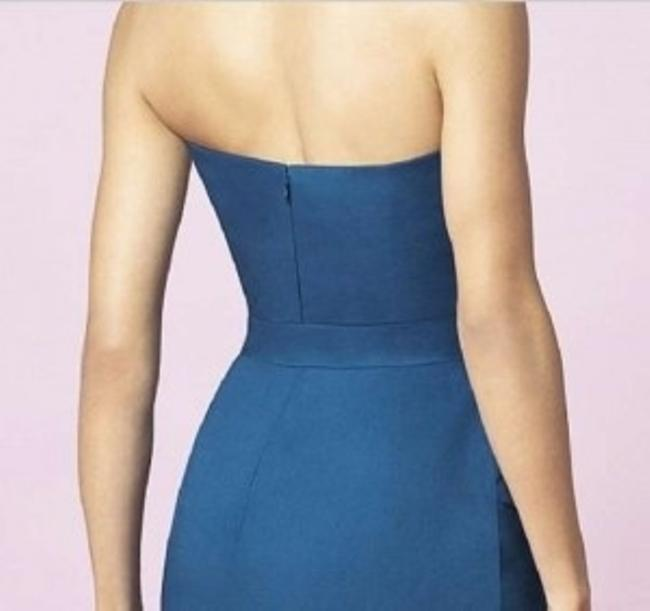 After Six Cocktail Length Strapless Dress