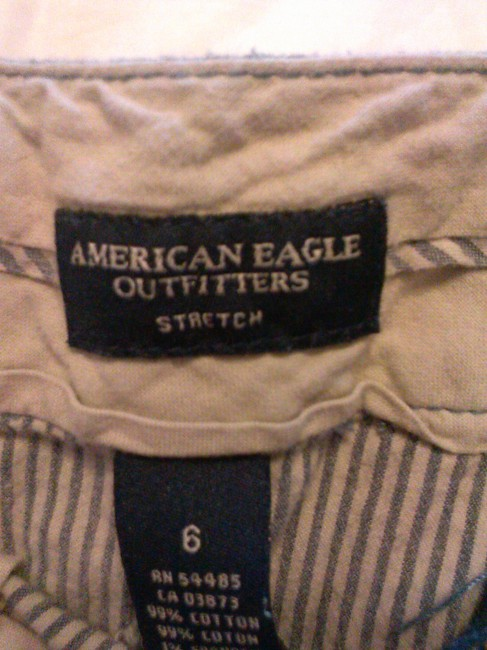 American Eagle Outfitters Cotton Mini Skirt stripes