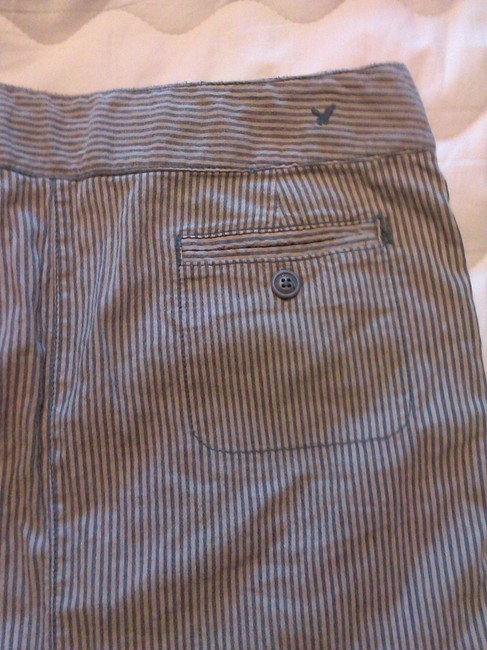American Eagle Outfitters Mini Skirt stripes