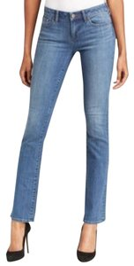Elie Tahari Cotton Chic Boot Cut Jeans-Medium Wash