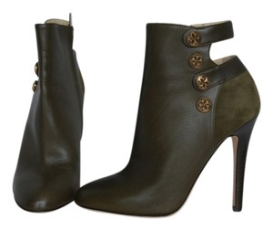 Jimmy Choo Talma Military Moss Green Boots