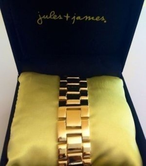 Jules & James Jules & James Gold Tone Bracelet Watch
