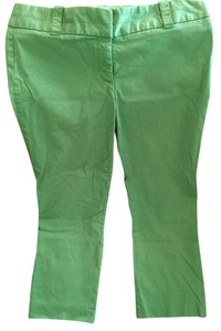 J.Crew City Fit Crop Size 8 Preppy Crop Capri Vacation Summer Capri/Cropped Pants Green
