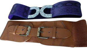 Set Of 2 Stretch Belts