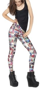 Black Milk Clothing Museum Cartoon Comics comic book Leggings
