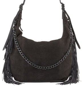 Ash Purse Snakeskin Hobo Bag