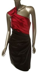 Pheobe Couture Pleated Bodice Bow Detail Dress