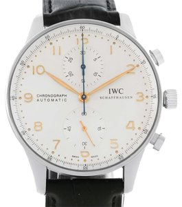 IWC IWC Portuguese Chrono Automatic Stainless Steel Mens Watch IW371401