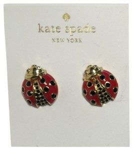 Kate Spade Spade New York Stud Earrings Garden Party Ladybug