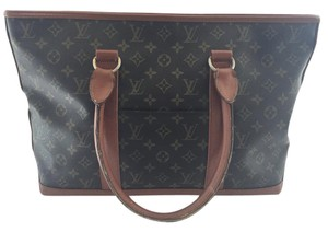 Louis Vuitton Sac Weekend Weekend Neverfull Tote in Monogram