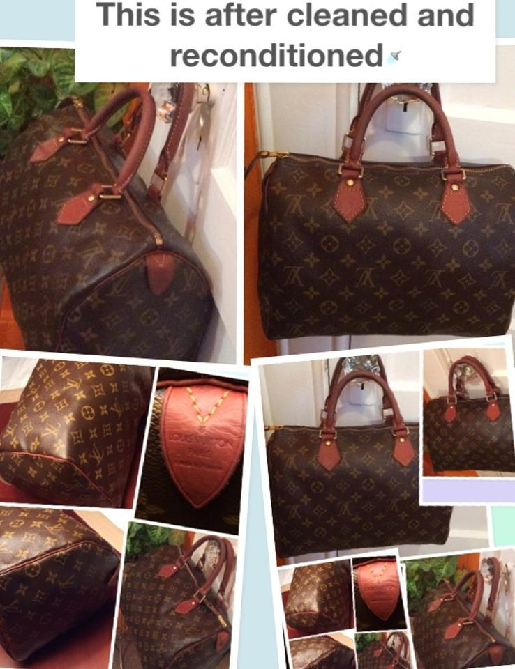 6e336e8957c6 Louis Vuitton Light Brick Red In Color Very Soft Fexible Rolled Handles  Free Of Built Up ...