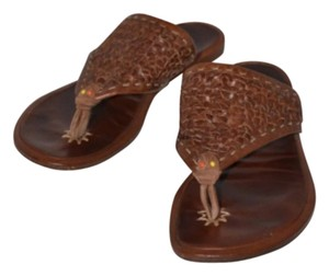 Henry Cuir Brown Sandals