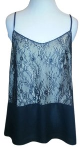Ann Taylor LOFT Sexy Top black and lace
