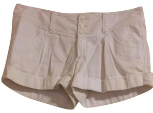 Express Shorts White