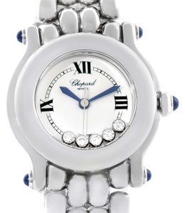 Chopard Chopard Happy Sport White Dial 5 Floating Diamonds Watch 27/8250-23