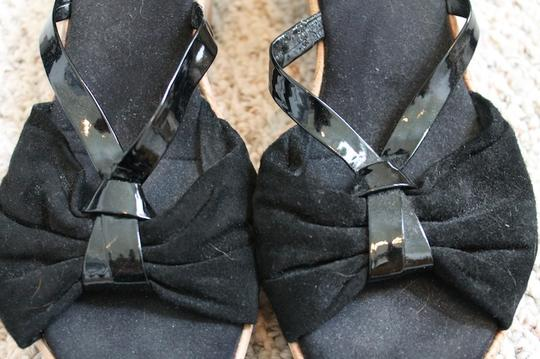 Nine West Comfortable Black Wedges