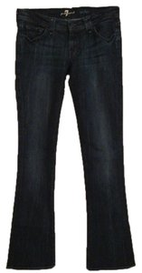 7 For All Mankind Slim Rocker Boot Cut Jeans-Dark Rinse