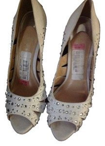 Gianni Bini White with stones Formal