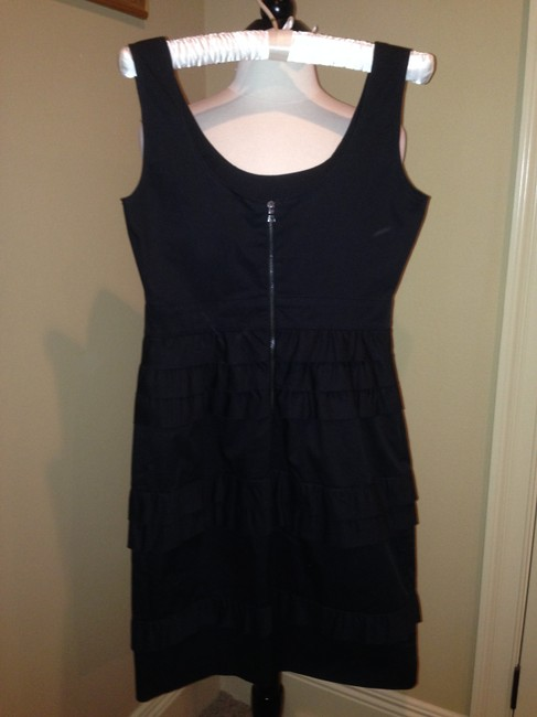 Elie Tahari Black Size 2 Dress
