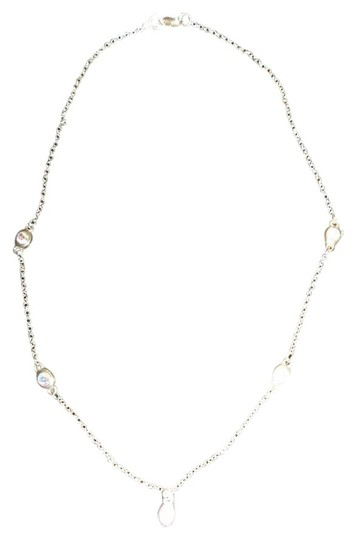 Other Silver Chain w/ Crystal Look Beads