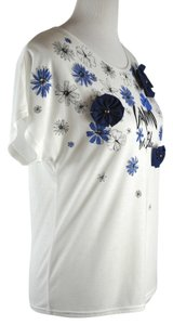Lanvin Floral Print T T Shirt Multi Color