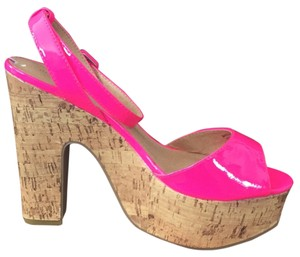 Madden Girl Pink Mules