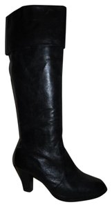 dELiA's Leather black Boots