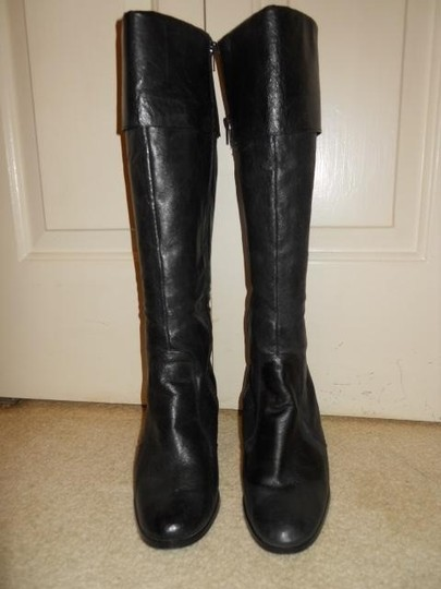 dELiA*s Leather black Boots