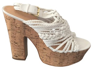 Victoria's Secret White Platforms