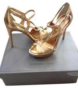 BCBG Heels Sandal Heels Gold Dust Formal