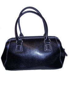 Other Leather Satchel in black