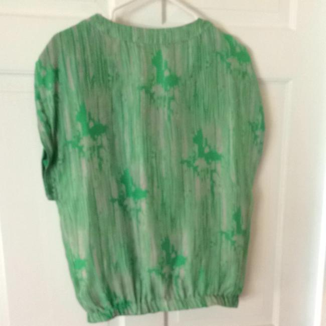 Forever 21 Top Green & Grey