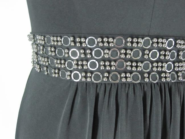Laundry by Shelli Segal Bling Stretch Evening Dress