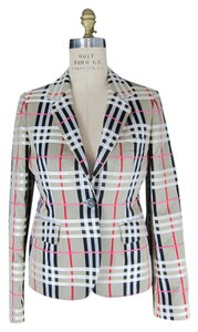 Burberry Plaid Nova Check Check multi Blazer