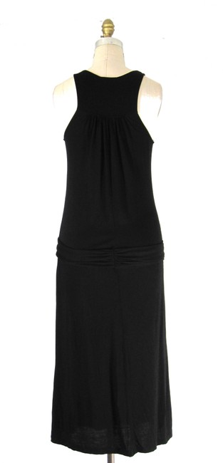 James Perse short dress black Knit Midi Draped on Tradesy