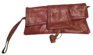 Adolfo Dominguez Brown Clutch