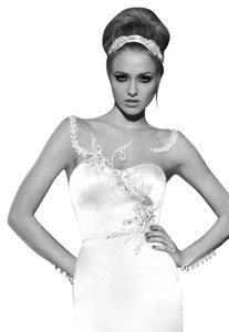 Galia Lahav Wedding Illusion Rhinestone Swarovski Dress