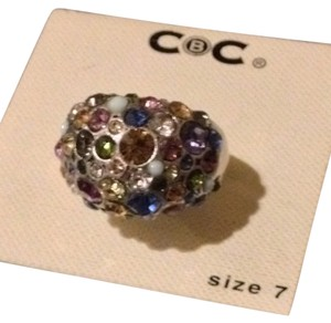 other Multicolor Dome Ring Sz 7