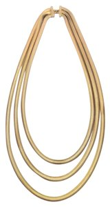 Other VINTAGE 3 Strand Gold Necklace