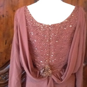 Alfred Angelo Chocolate Dress